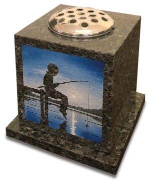 Brightwater Granite Vase Memorial