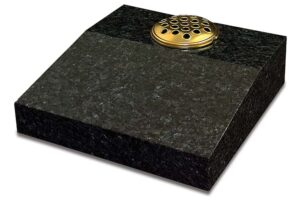 Blue Pearl Granite Desk Tablet Memorial