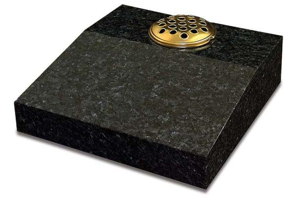 Blue Pearl Granite Desk Tablet Memorial
