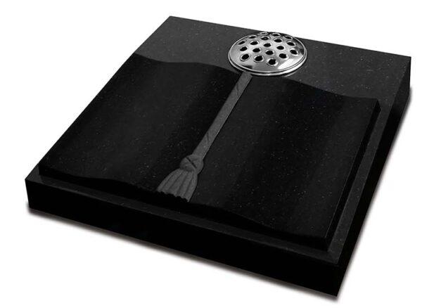 Black Galaxy Granite Desk Tablet Memorial